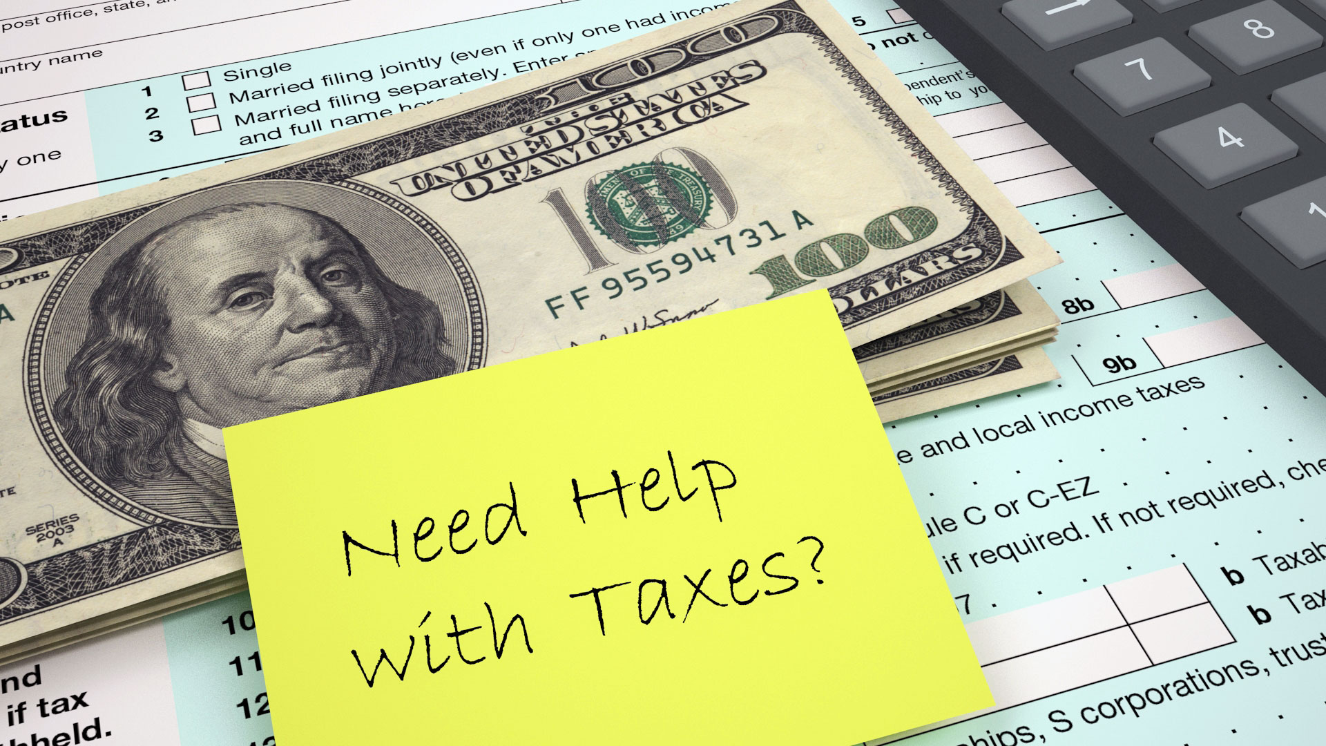 Let us Help you with the new Tax Reform!
