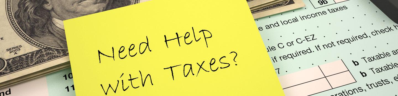 Tax Help?